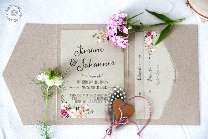 Zur Hochzeit geladen