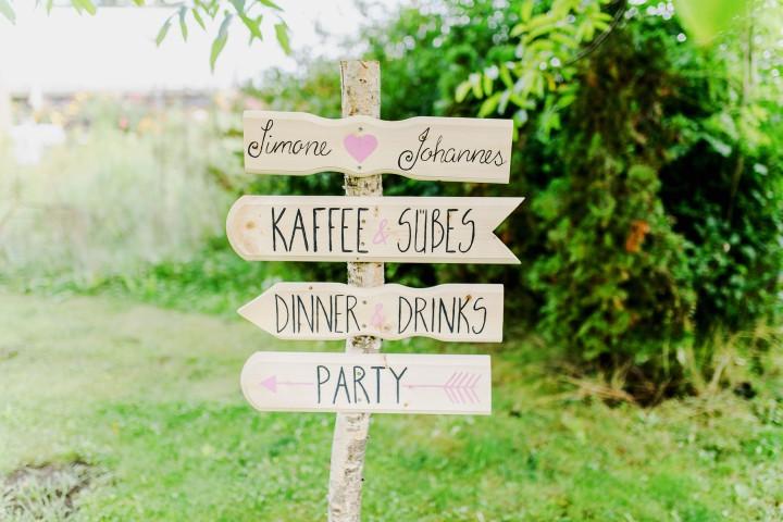 Hochzeit – hier geht'slang…